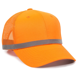 Safety Mesh Back Cap