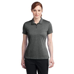 Nike Golf Dri-FIT Heather Polo - Ladies