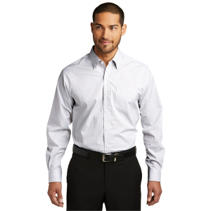 Port Authority® Micro Tattersall Easy Care Shirt