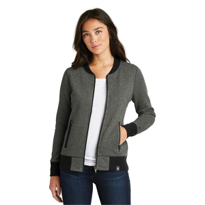 New Era® Ladies French Terry Baseball Full-Zip