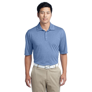Nike Golf Dri-FIT Heather Polo - Men's